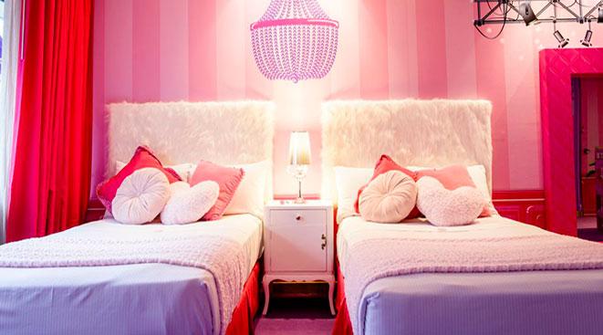 Barbie Room en el Hilton Buenos Aires