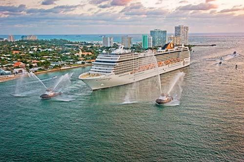 Conectividad intenet para los pasajeros en los doce buques de su flota