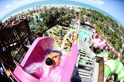 Beach Park: uno de los mejores parques de agua del mundo