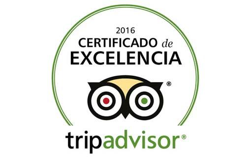 Arakur Ushuaia Resort & Spa recibió un certificado de excelencia de TripAdvisor