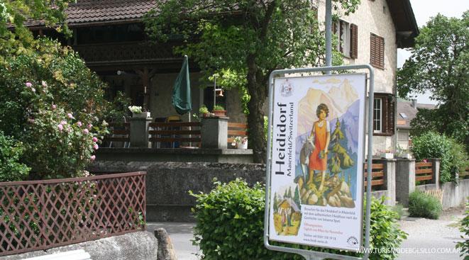 La Suiza de Heidi en Maienfeld, en los Alpes suizos / Por Graciela Cutuli