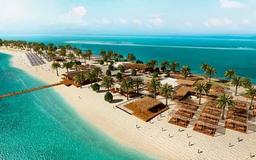 Dubái, Abu Dhabi y Sir Bani Yas a bordo del MSC Fantasia