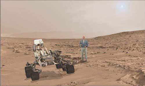 A caminar sobre Marte con Buzz Aldrin