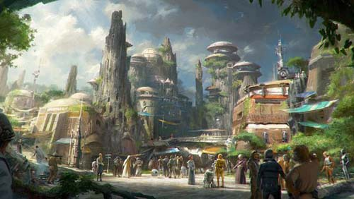 Abrirán un Star Wars Land en Orlando y en California