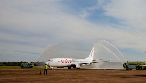 Se suma un nuevo vuelo diario a las Cataratas del Iguazú