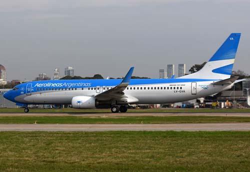 La compañía incorpora un nuevo Boeing 737-800 a su flota