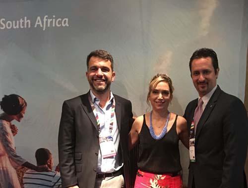 Tatiana Isler, responsable de la oficina de turismo de Africa del Sur en América Latina