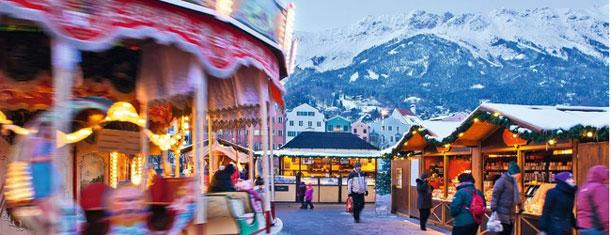 Mercados de Navidad en el Tirol